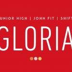 junior high, john fit, shift - gloria artwork