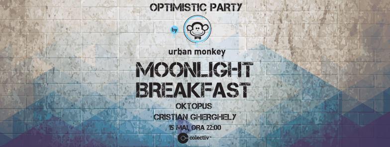 Afiș concert Moonlight Breakfast în Colectiv pe 15 mai 2015
