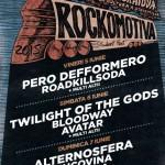 Afiș festival Rockomotiva 2015 la Craiova