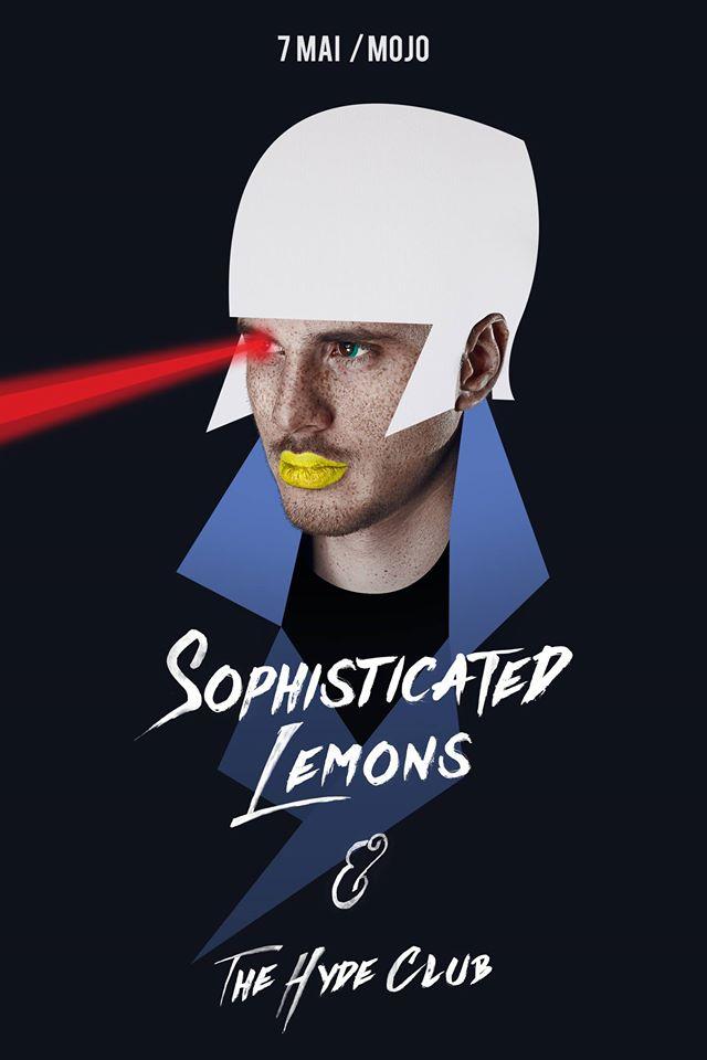 Afiș concert Sophisticated Lemons în Mojo Club pe 7 mai 2015