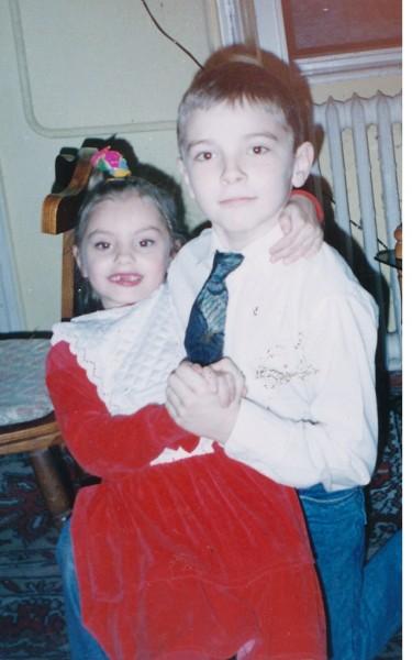Alexandra Stan în copilărie