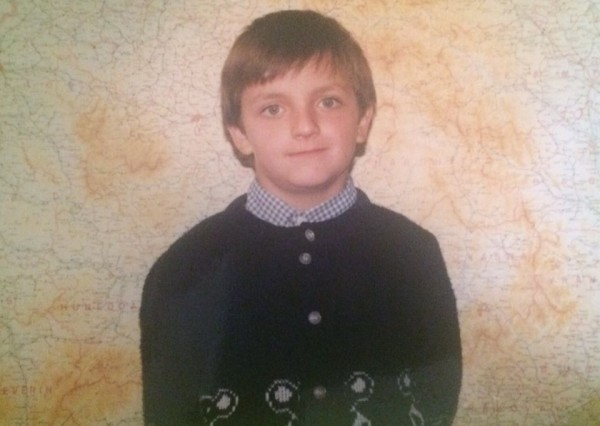 Boier Bibescu în copilărie