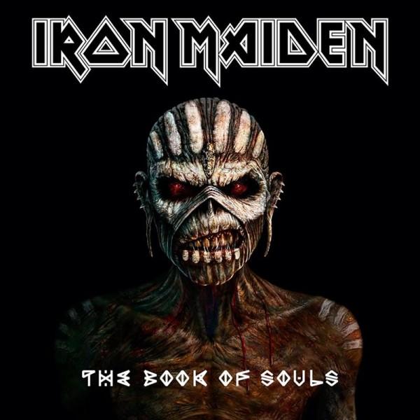 "Iron Maiden - ""The Book of Souls"" (copertă album)"