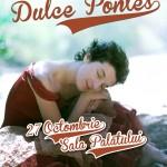 Afiș Dulce Pontes concert în România 2015