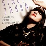 Afiș Hindi Zahra concert în România 2015
