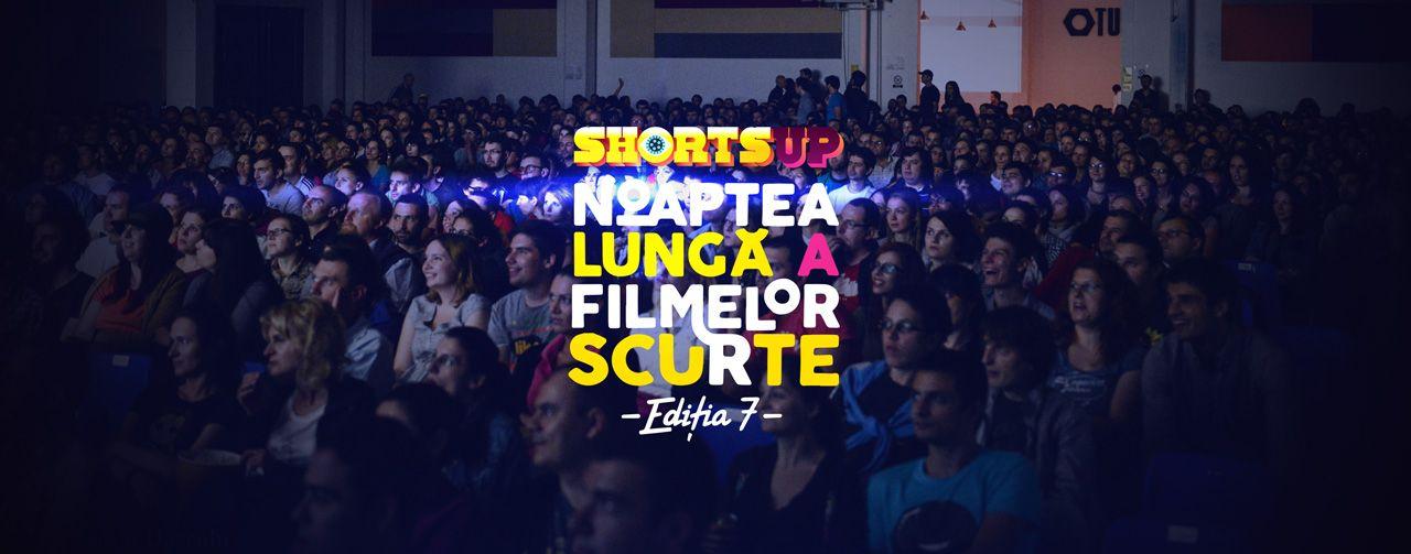 Afiș Noaptea lungă a filmelor scurte Romexpo 2015