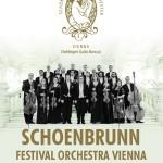 Afiş Schoenbrunn Festival Vienna Orchestra concert Sala Palatului 2015