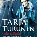 Afiş Tarja Turunen concert Ateneul Român 2015