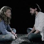 Actorii Antonia Ionescu Micu și Radu Micu în clipul Taxi - Joc periculos