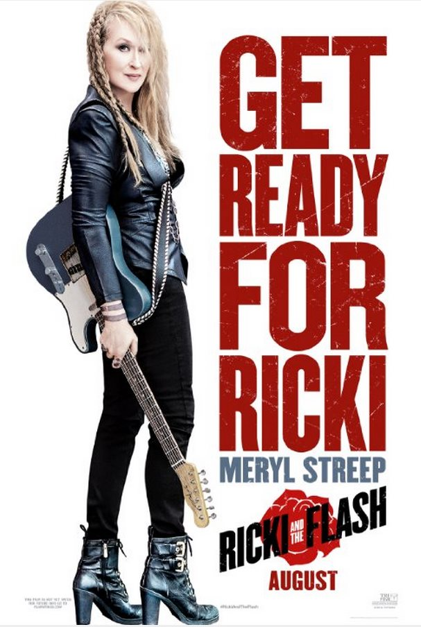 "Poster ""Ricki and the Flash"""