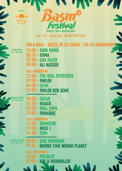Program Basm Festival 2015