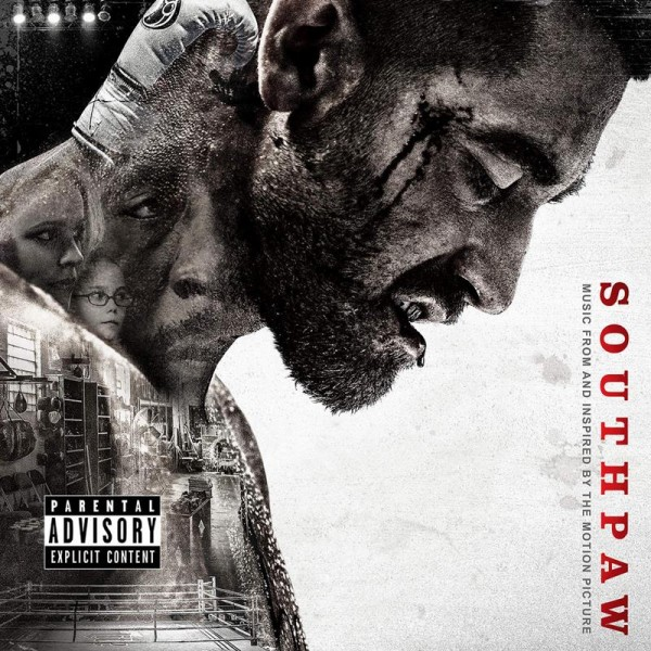 """Southpaw"" (Music From and Inspired By the Motion Picture)  Artwork"