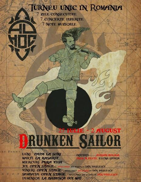 Ad Hoc - Turneul Drunken Sailor