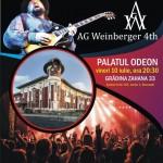 Afiș AG Weinberger 4th concert Palatul Odeon 2015