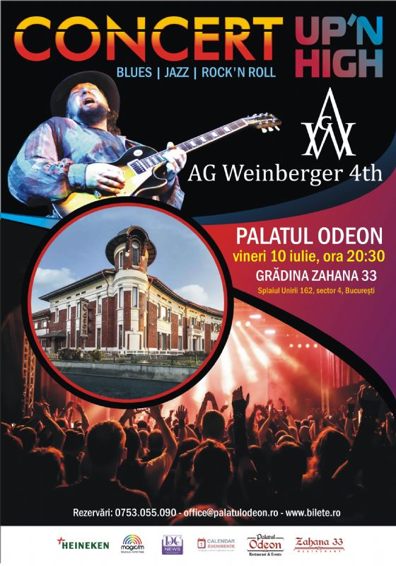Afiș AG Weinberger 4th concert Palatul Odeon 2015
