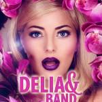 Afiș concert Delia & Live Band la Hard Rock Cafe pe 4 septembrie 2015