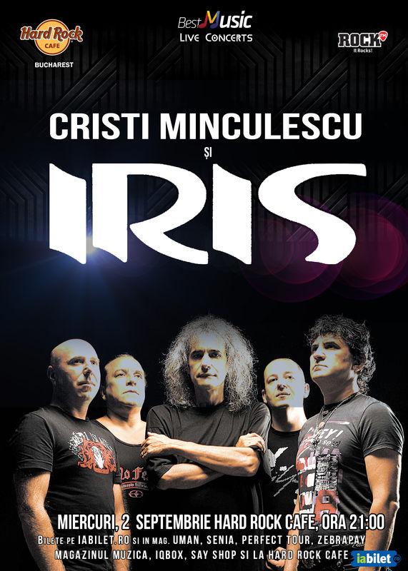 IRIS și Cristi Minculescu