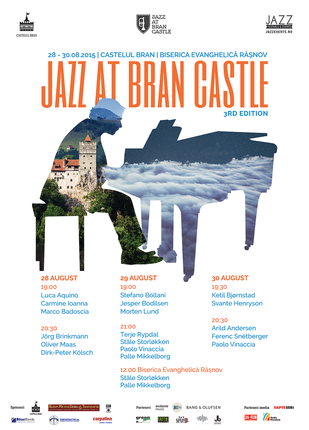 Afiș Jazz at Bran Castle Festival 2015