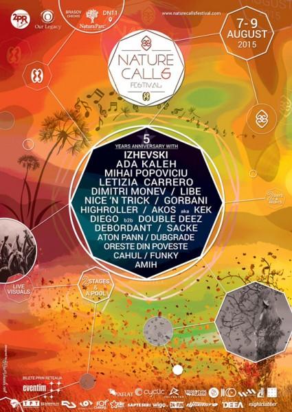 Afiș Festival Nature Calls la Natura Parc Covasna 2015
