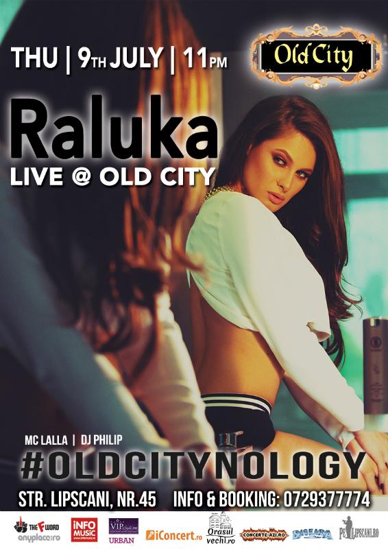 Afiș Raluka Concert în Old City Pub 2015