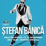 Afiş Concert de Crăciun Ştefan Bănicăla Sala Palatului 2015