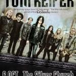 Afiş Tom Keifer Cinderella concert Silver Church 2015
