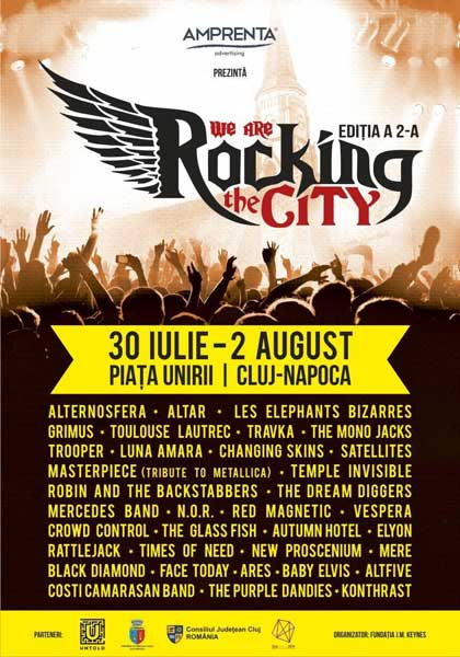 We Are Rocking the CITY 2015