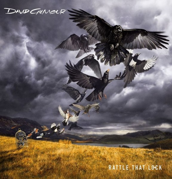 "David Gilmour - ""Rattle That Lock"" (copertă album)"