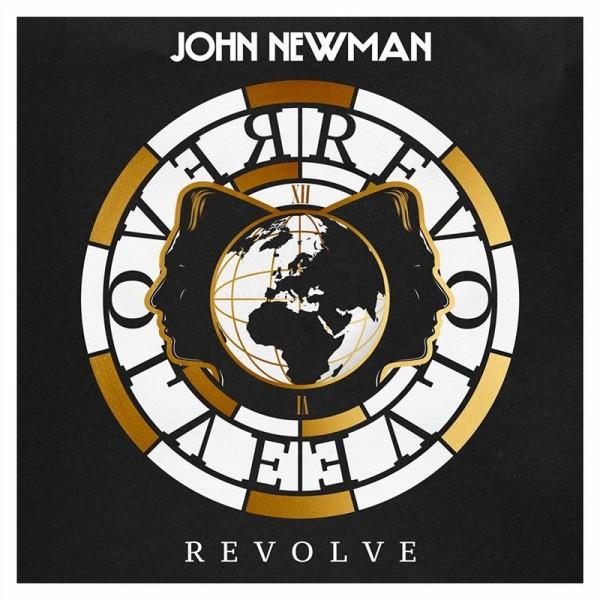 "John Newman - ""Revolve"" (copertă album)"