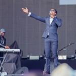 Lemar în deschiderea concertului Robbie Williams de la Bucuresti pe 17 iulie 2015