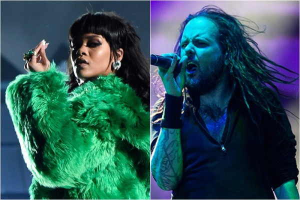 Rihanna VS. Korn