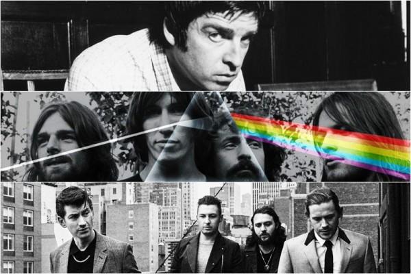 Noel Gallagher / Pink Floyd / Arctic Monkeys
