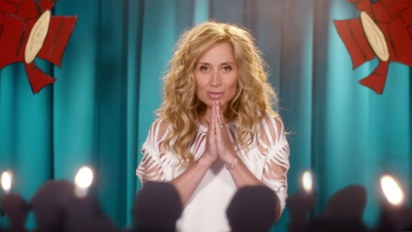 Lara Fabian într-o secvență din videoclipul Quand je ne chante pas