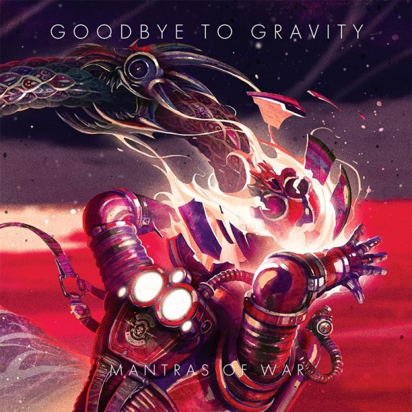 "Goodbye to Gravity - ""Mantras of War"" (copertă album)"