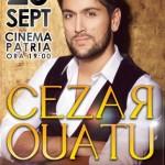 Afiș Cezar Ouatu Concert Cinema Patria 2015