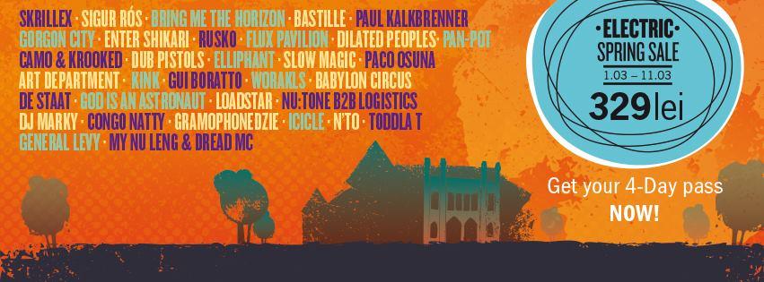 Electric Castle Festival 2016 la Castelul Banffy