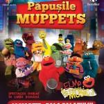 Afiș Elmo Makes Music The Muppets Show Sala Palatului 2016