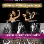 Afiș Gala Tango Cazino 2015 Cluj Napoca