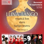 Afiș Luna Tango Spectacol România 2015
