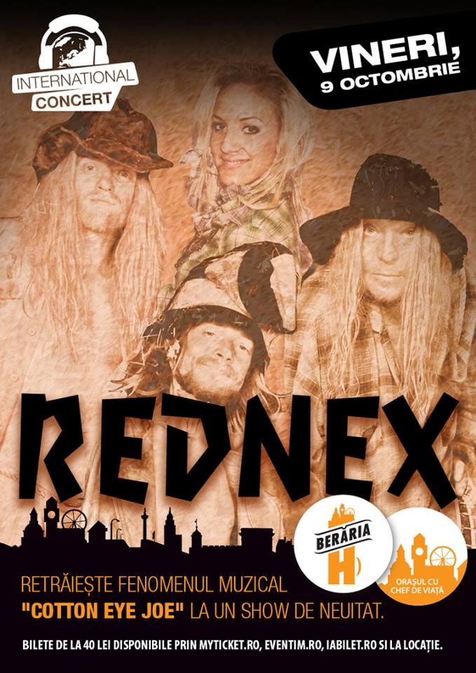 Afiș Rednex Concert Berăria H 2015