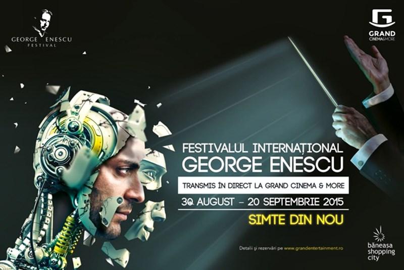 Festivalul Internaţional George Enescu, în direct în cinematografele din România