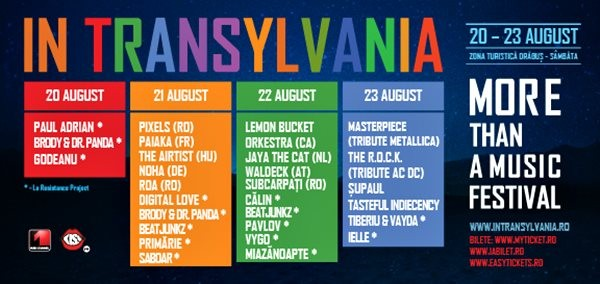 Program In Transylvania 2015