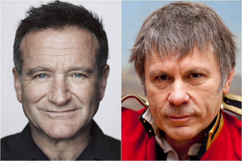 Robin Williams / Bruce Dickinson