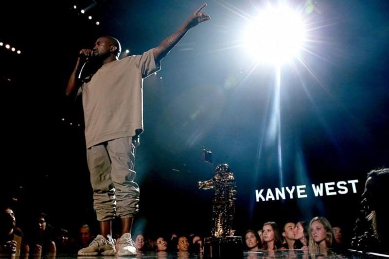 Kanye West anunțându-și candidatura la președinție