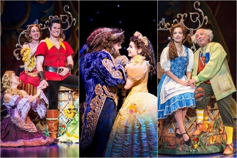 """Imagini din cadrul musical-ului """"Beauty and the Beast"""""""