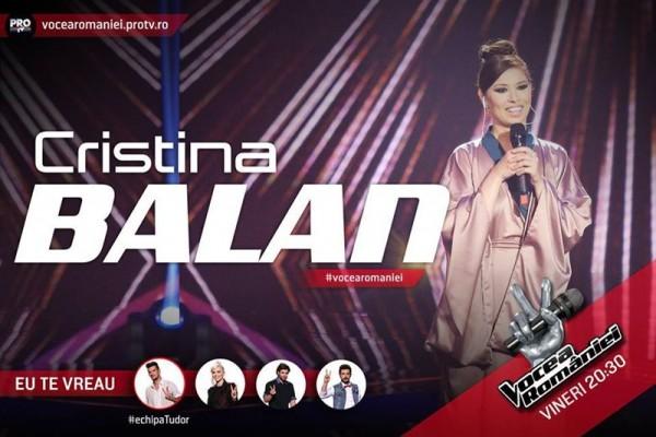 Cristina Bălan, Vocea României 2015