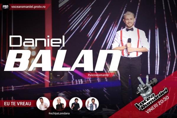 Daniel Bălan, Vocea României 2015