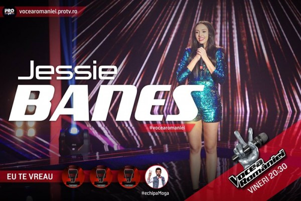 Jessie Banes, Vocea României 2015