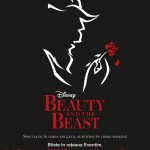 Afiș Musical Disney Beauty and The Beast 2015