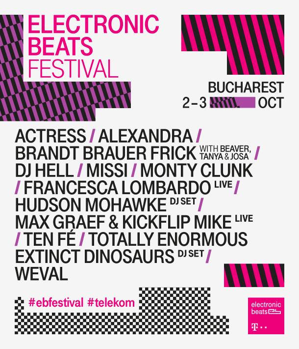 Afiș Electronic Beats Festival 2015